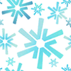Tecido Snowflakes icone.png
