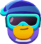 Emoticon de pinguim na boia de neve.png